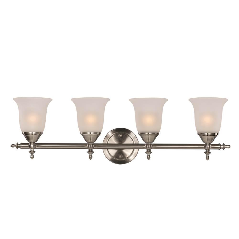 Brushed Nickel Trans Globe Lighting PL-2513 BN Indoor Ashlea 22 Vanity Bar